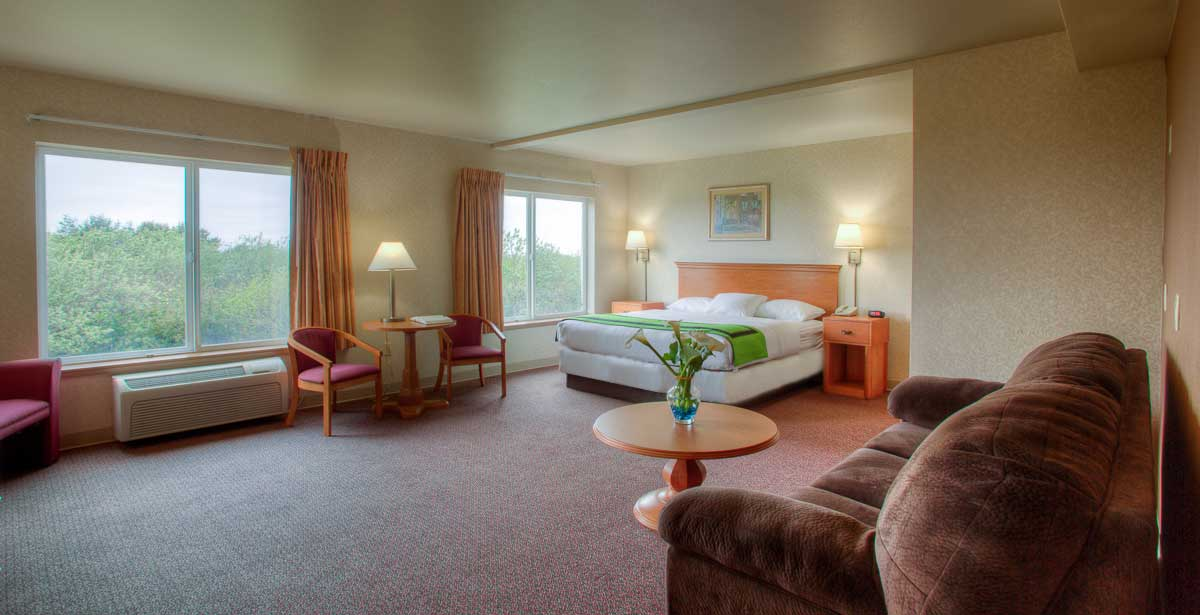 Quinault Sweet Grass Hotel Rooms
